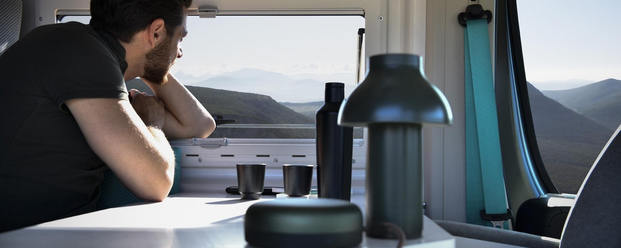 PEUGEOT BOXER 4x4 CONCEPT: ofrecer a los aventureros un espacio vital de 10 m² idealmente pensado para 2 o 3 personas.