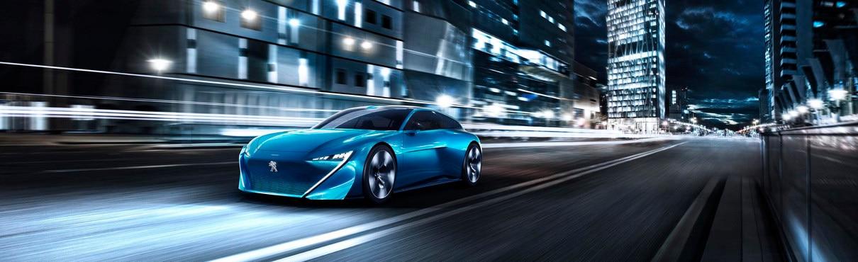 Marca y Tecnología Peugeot - Instinct Concept