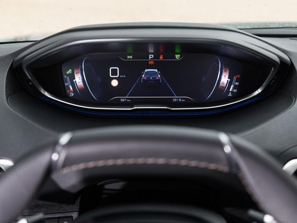 Head-up Display Peugeot i-Cockpit