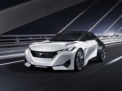 Peugeot Fractal - Descubre el Concept car Fractal