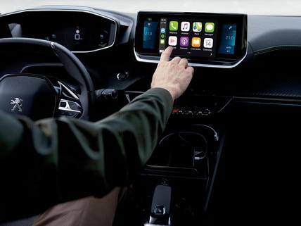 Nuevo SUV PEUGEOT 2008: pantalla táctil capacitiva de 10 pulgadas HD