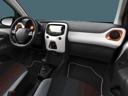 Peugeot 108 Top Roland Garros - interior del coche